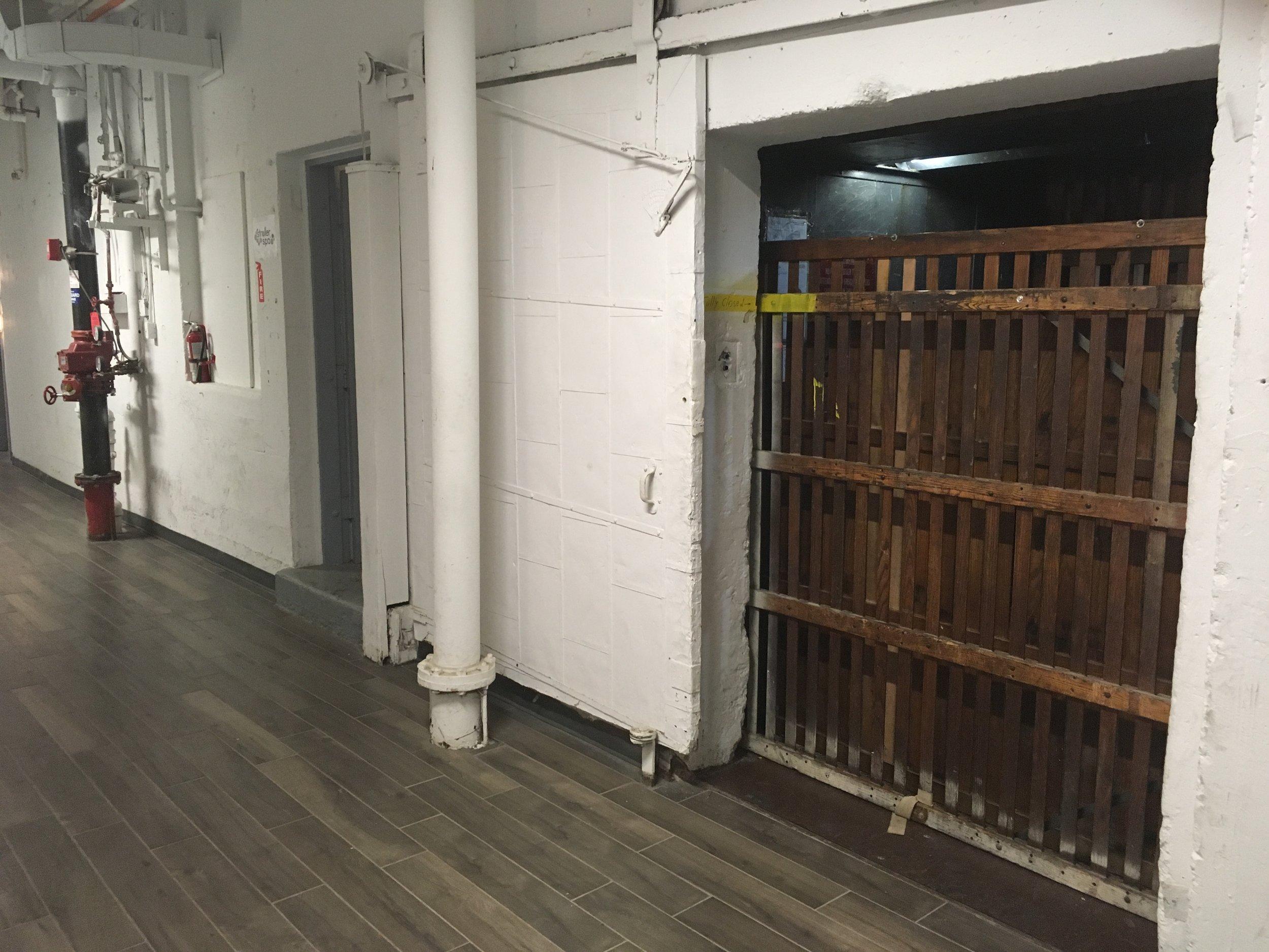 elevator ground floor