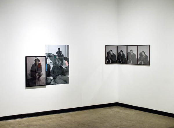 National Winner from Manitoba  Figure as Index (Triptych)  by Luther Konadu