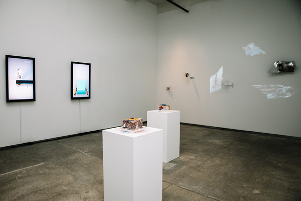 2018 IA Current exhibition,  Preservation and Permanence , co-curated by Amanda Low and Tommy Truong. Photo by Connie Tsang.