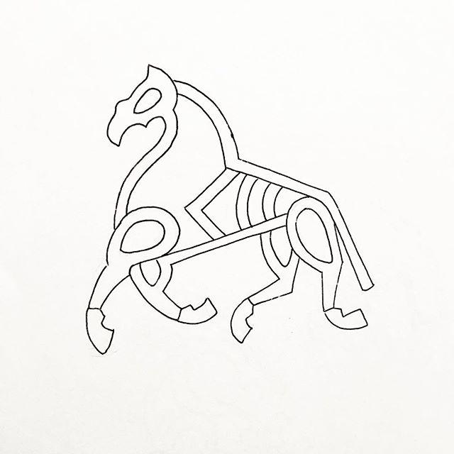 Work to rework. #sketch #sketchbook #line #linedrawing #horse #art #artist #artwork #drawing