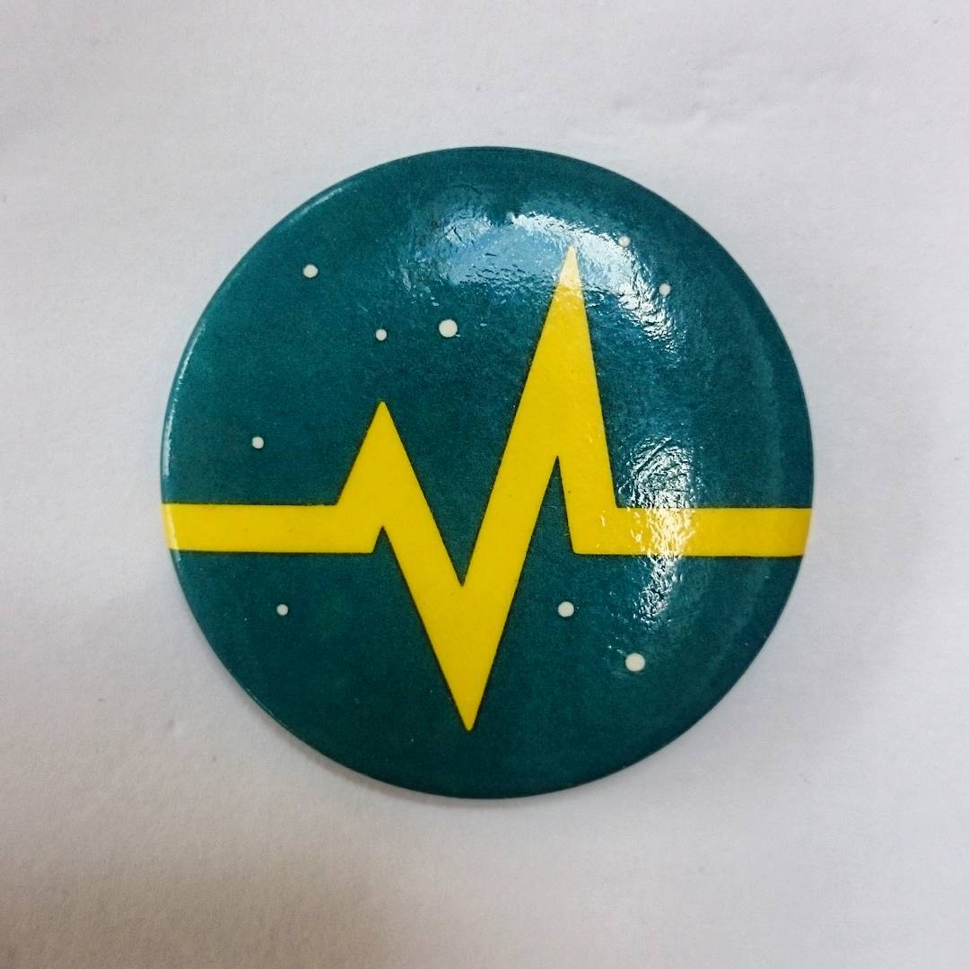 Recognise the symbol on this badge?