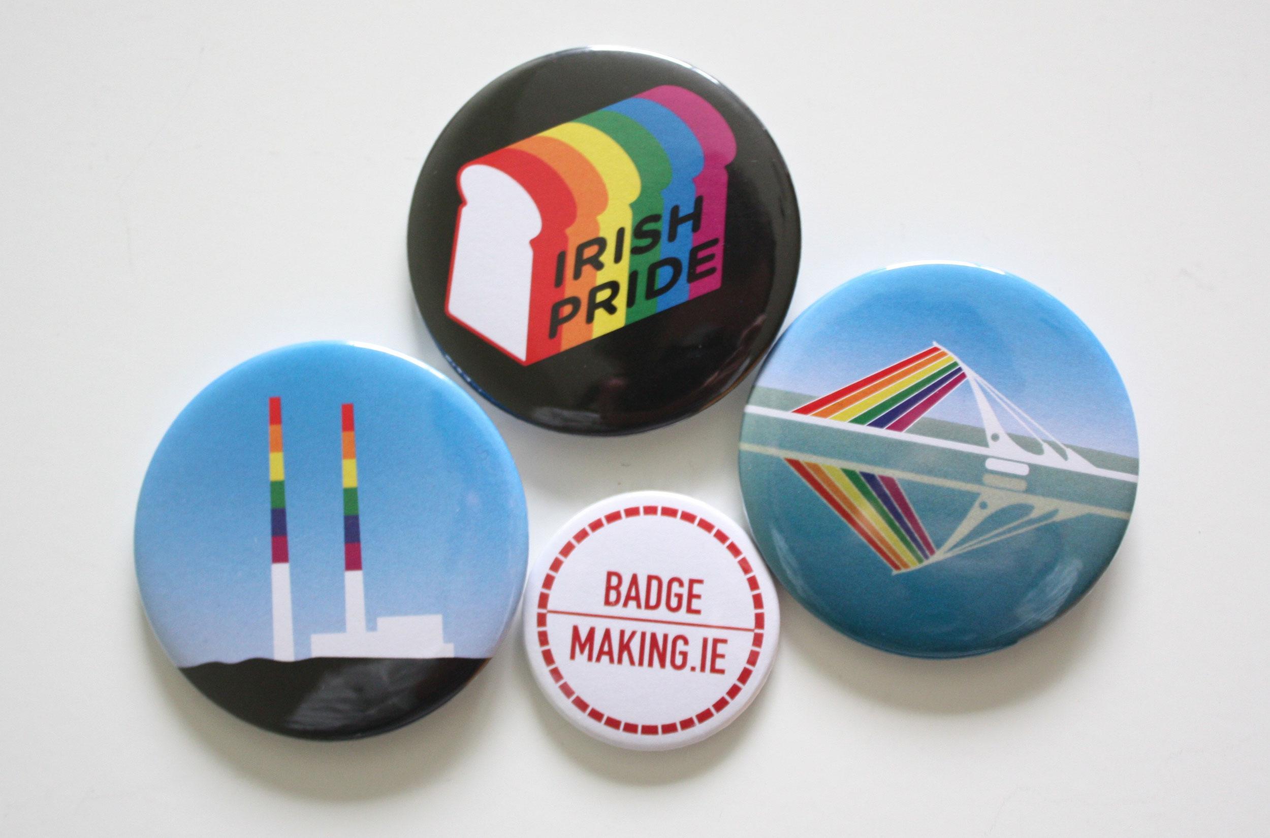 Irish LGBTQ Badges