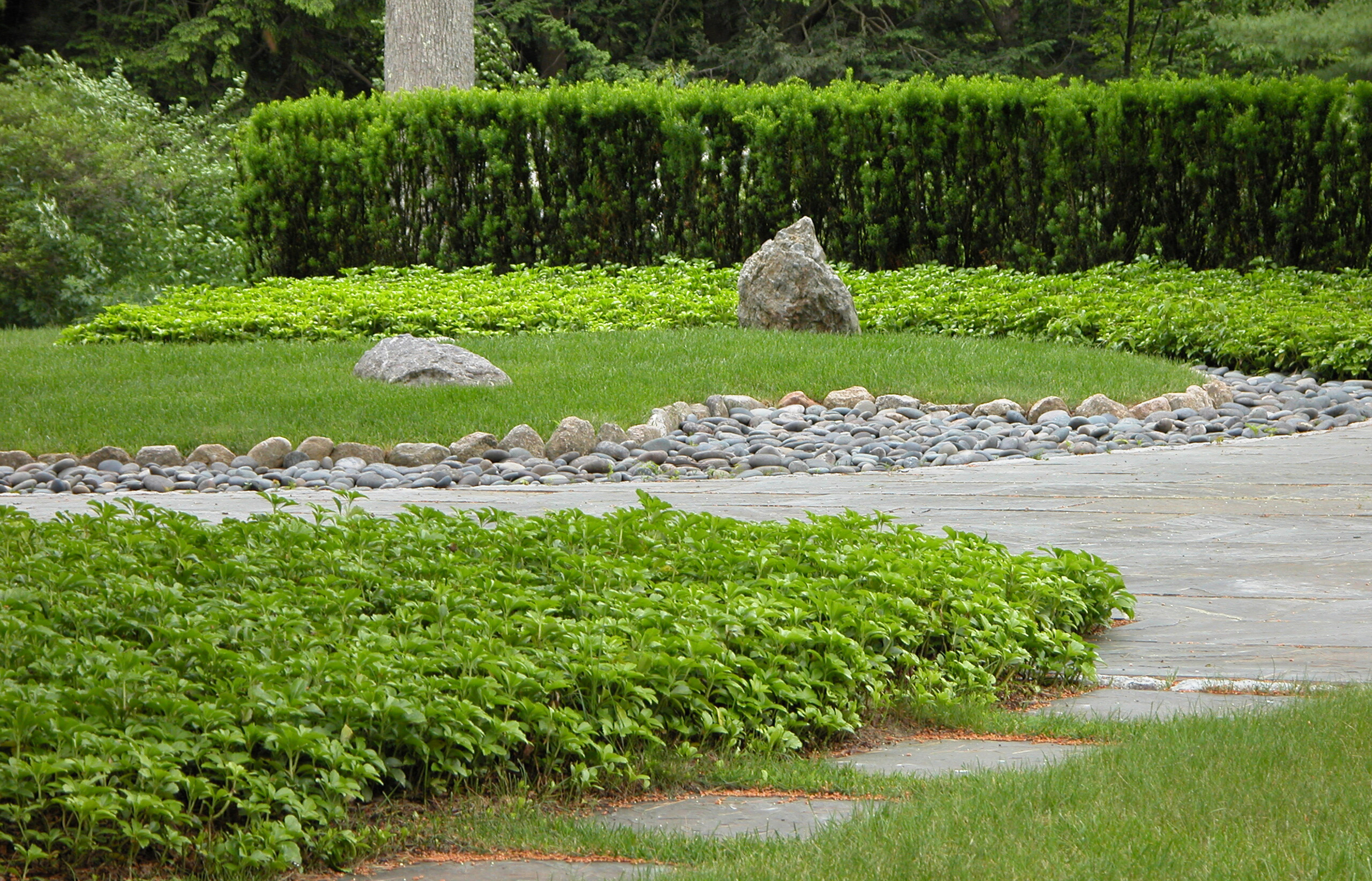 Stone Garden   Milton, Mass.