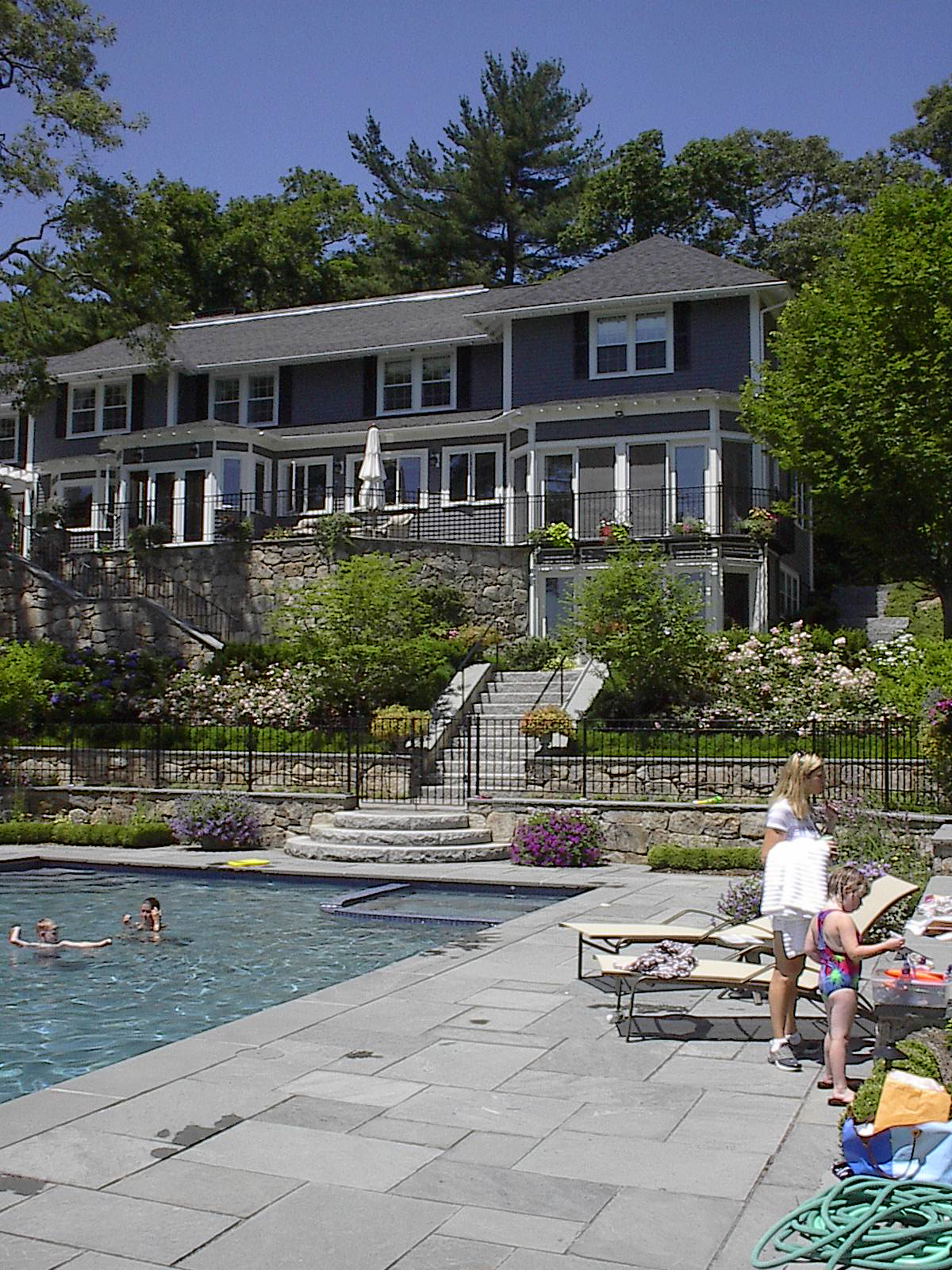 Pool and Hillside Gardens    Cohasset, Mass.