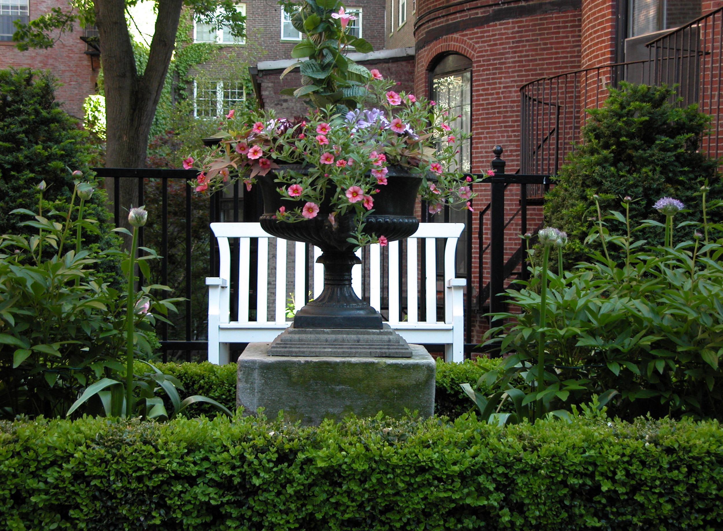 Beacon Hill Garden   Boston, Mass.
