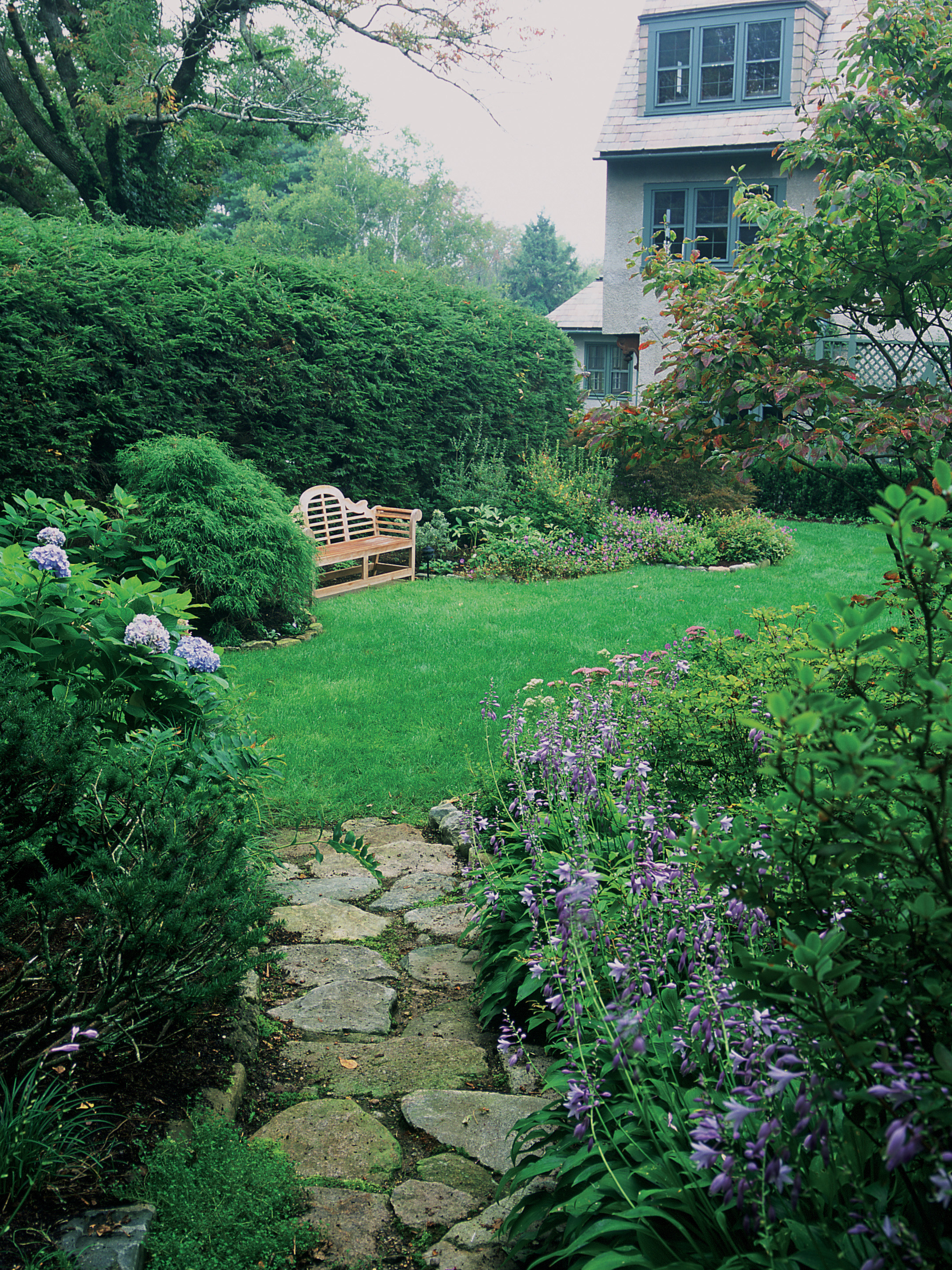 Woodland Garden   Milton, Mass.