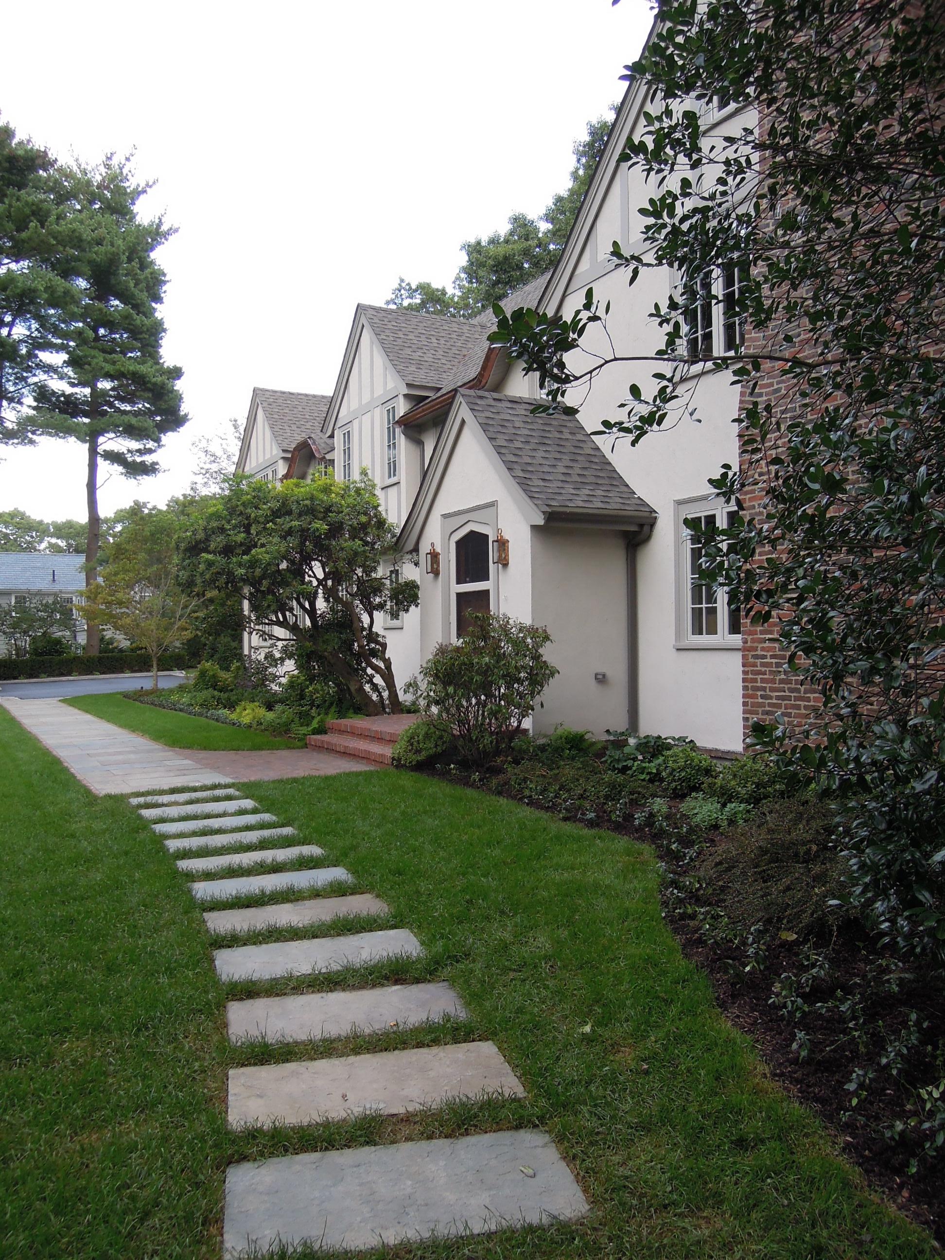 Entrance Garden   Wellesley, Mass.