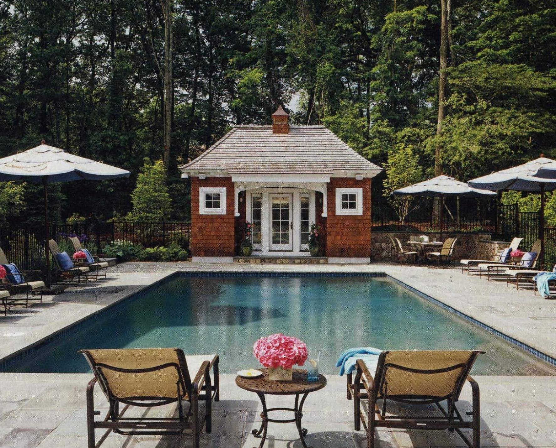 Pool Garden   Weston, Mass.