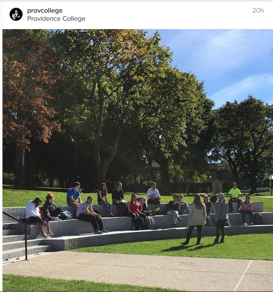 Providence College   Harkins Amphitheater