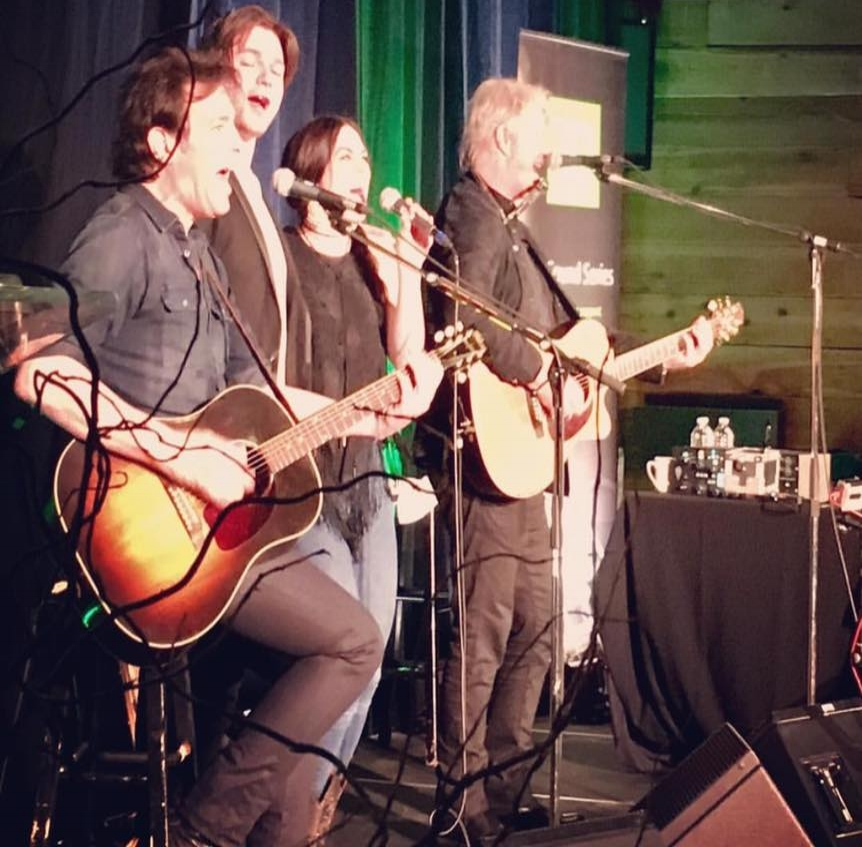 - Had the honour of opening for the amazing Tom Cochrane at TD Music Sound Series in YYC on April 13th. Even got to sing