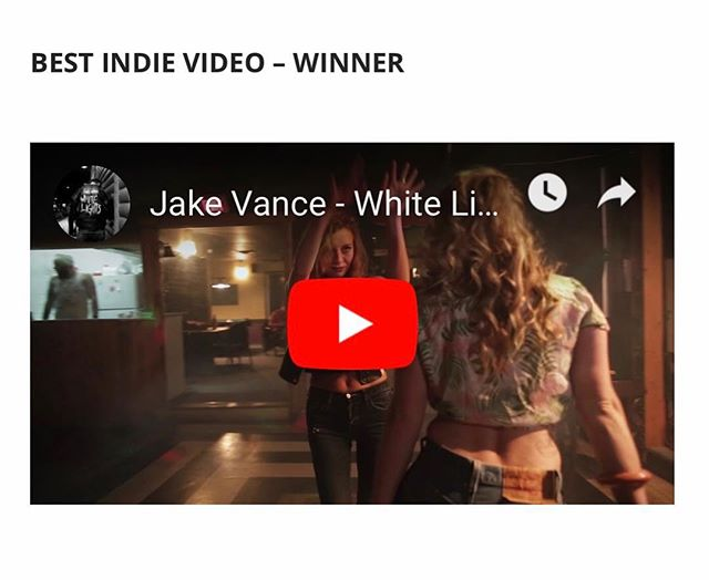 So we won our category in the Canadian Independent Music Video awards. Thanks to @dropoutentertainment and everyone who voted!
