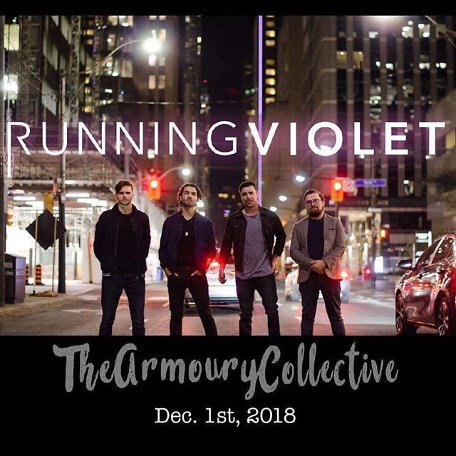 We're going to turn up the heat in one of Toronto's coolest loft spaces this Saturday🔥 This is our last show of the year and we've got some new stuff to test out and some steam to blow off! WHO'S IN?!?! Special guest: @dylan_hennessy_music Ticket Link in bio! • • • #runningviolet #toronto #libertyvillage #toronto music #indiemusic #newrock #party #saturday #newmusic #winteriscoming #canvas #sodamncold