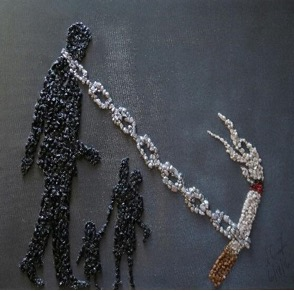 """""""Chained""""  by Lisa Foster"""