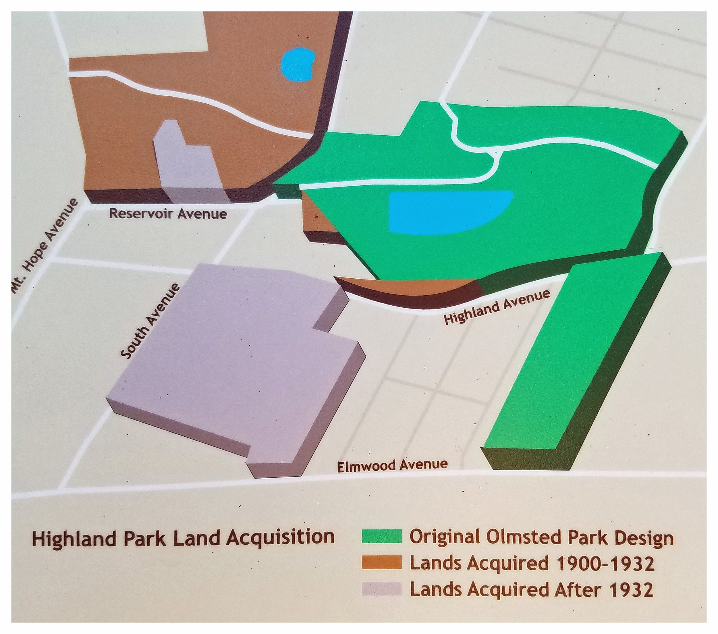 - Over the years, additional lands were acquired to expand the boundaries of Highland Park.