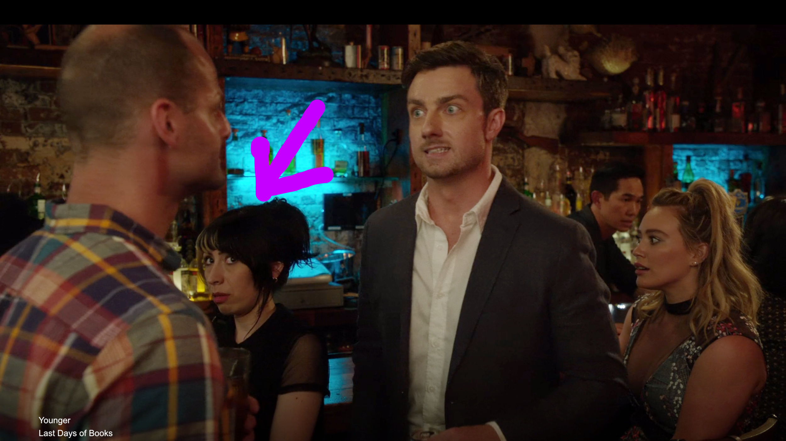 My appearance on TV Land's 'Younger'.
