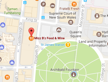 Mizz B'z on Google maps