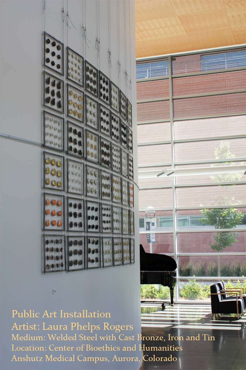 Public Art Installation Metal Quilt with Anatomical Elements, Center of Bioethics and Humanities _laura phelps rogers.jpg
