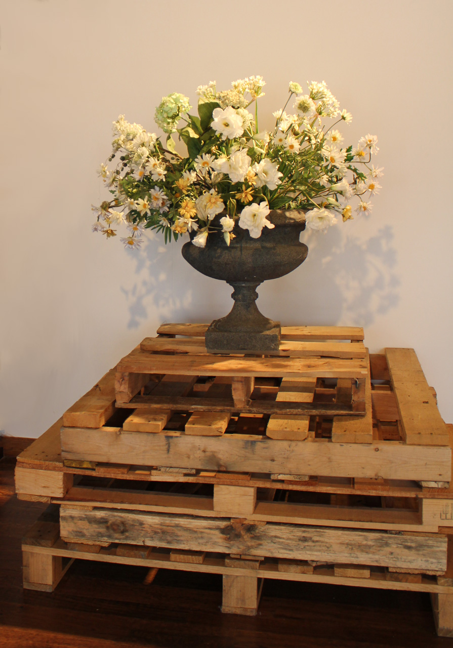 Pallets and Flowers - laura phelps rogers.jpg