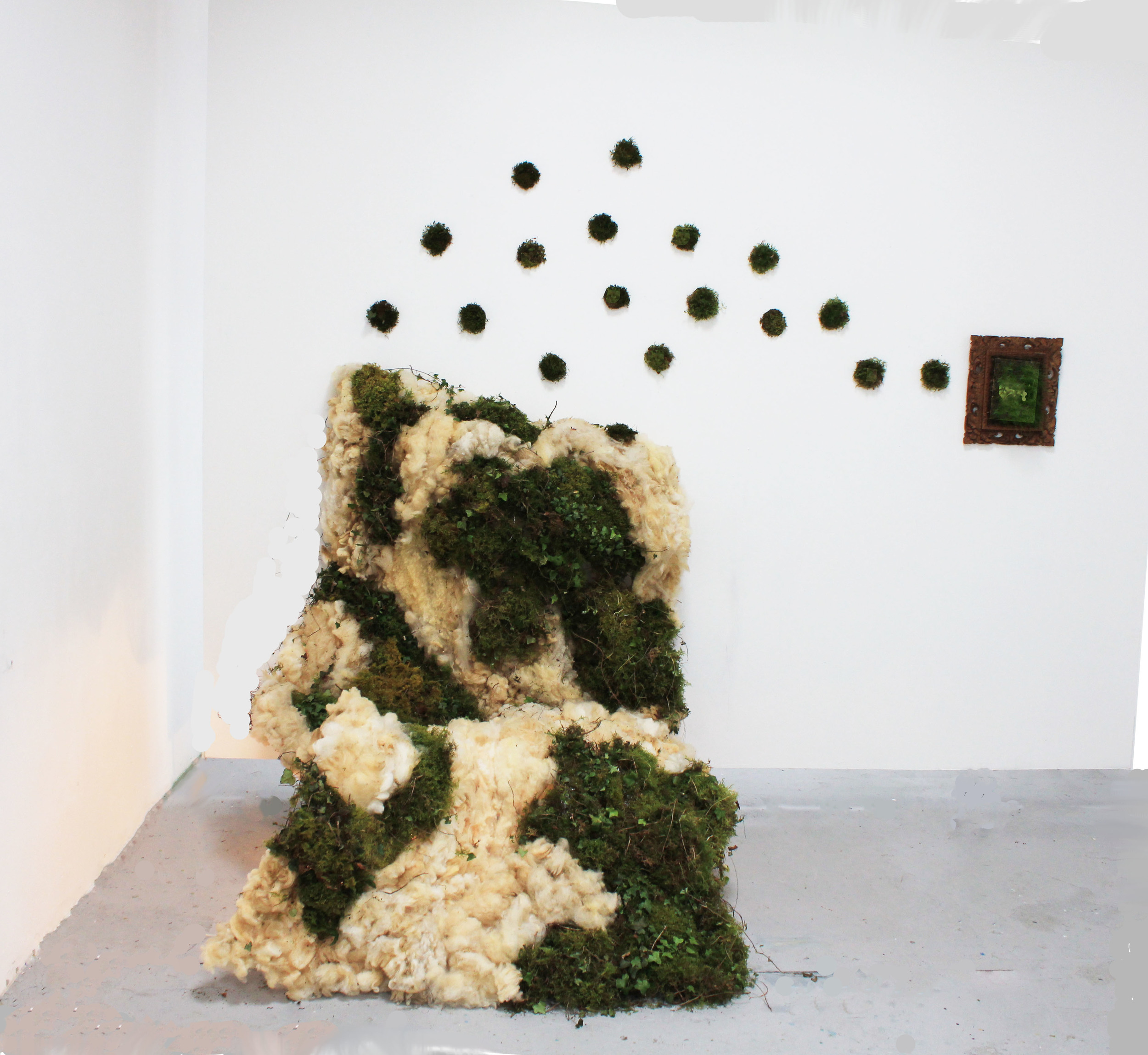 Wool and Moss - Ephemeral Installation _ laura phelps rogers.jpg