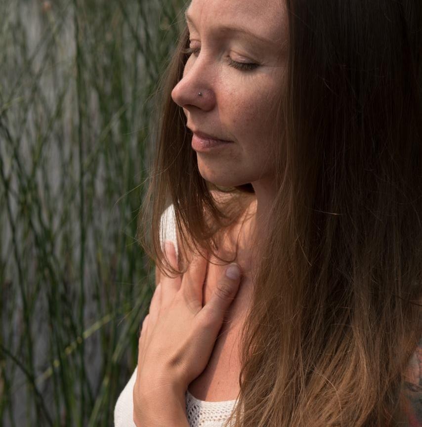 Caroline Stewart-Inspired Me-Hand on Heart
