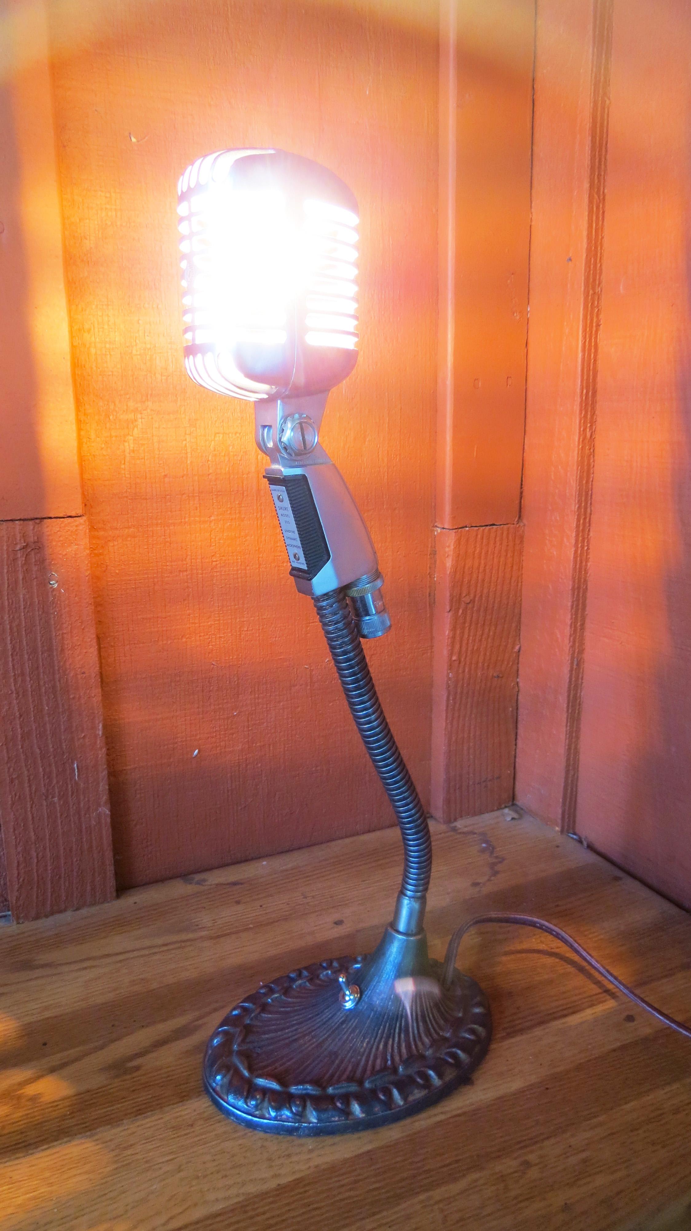 Shure 55s Mic Light