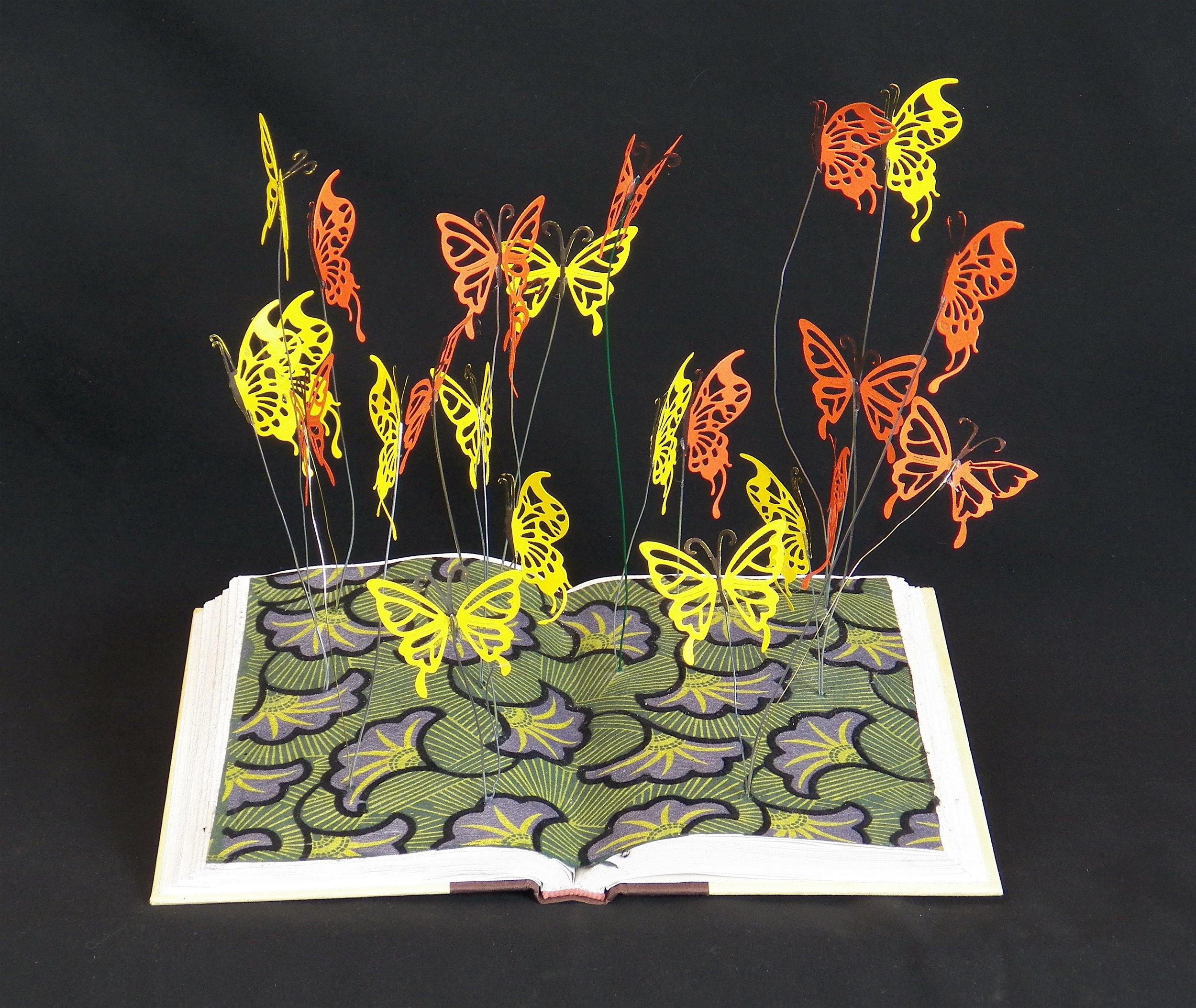 Butterflies & Flowers Book Mobile