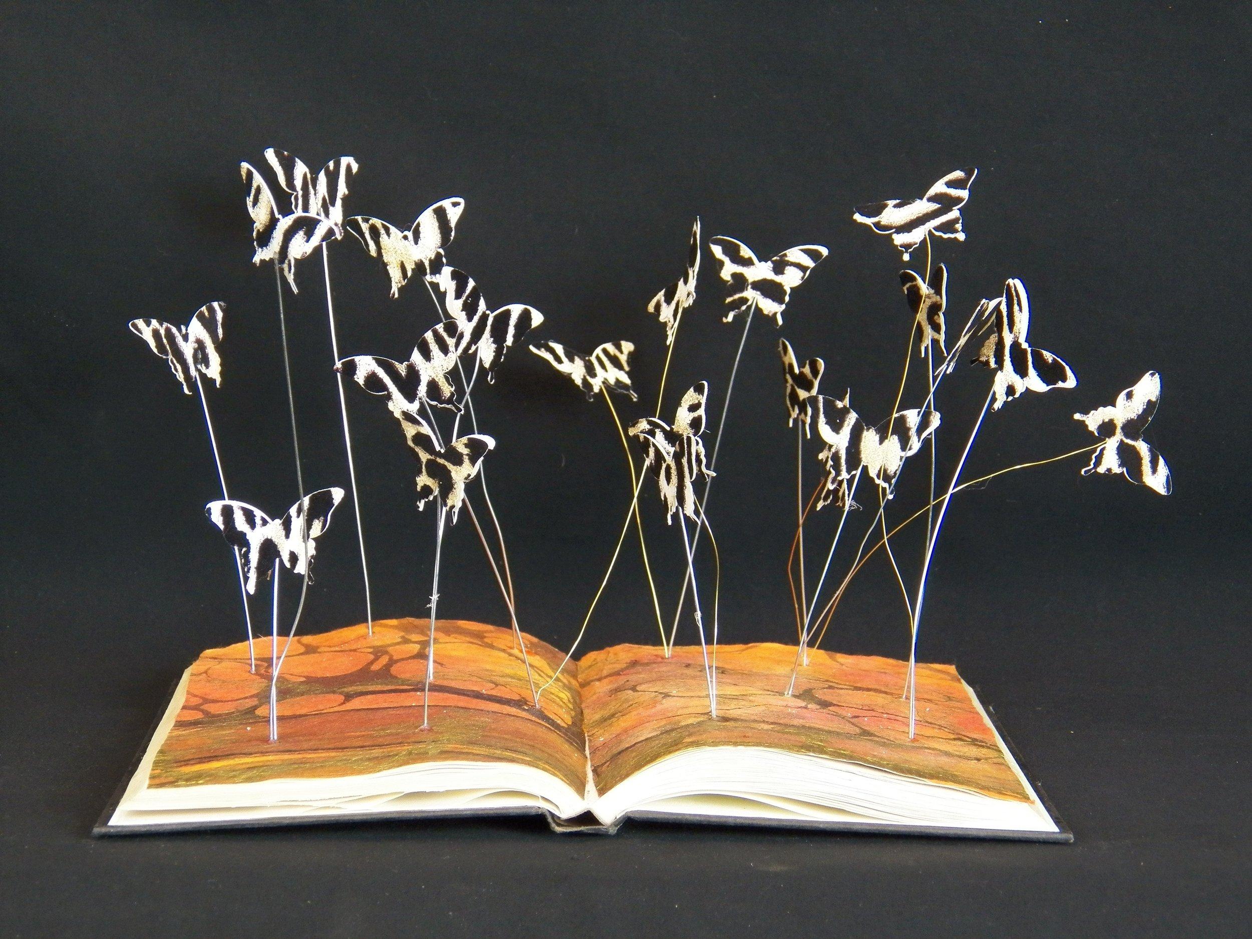 Zebra Butterflies Book Mobile