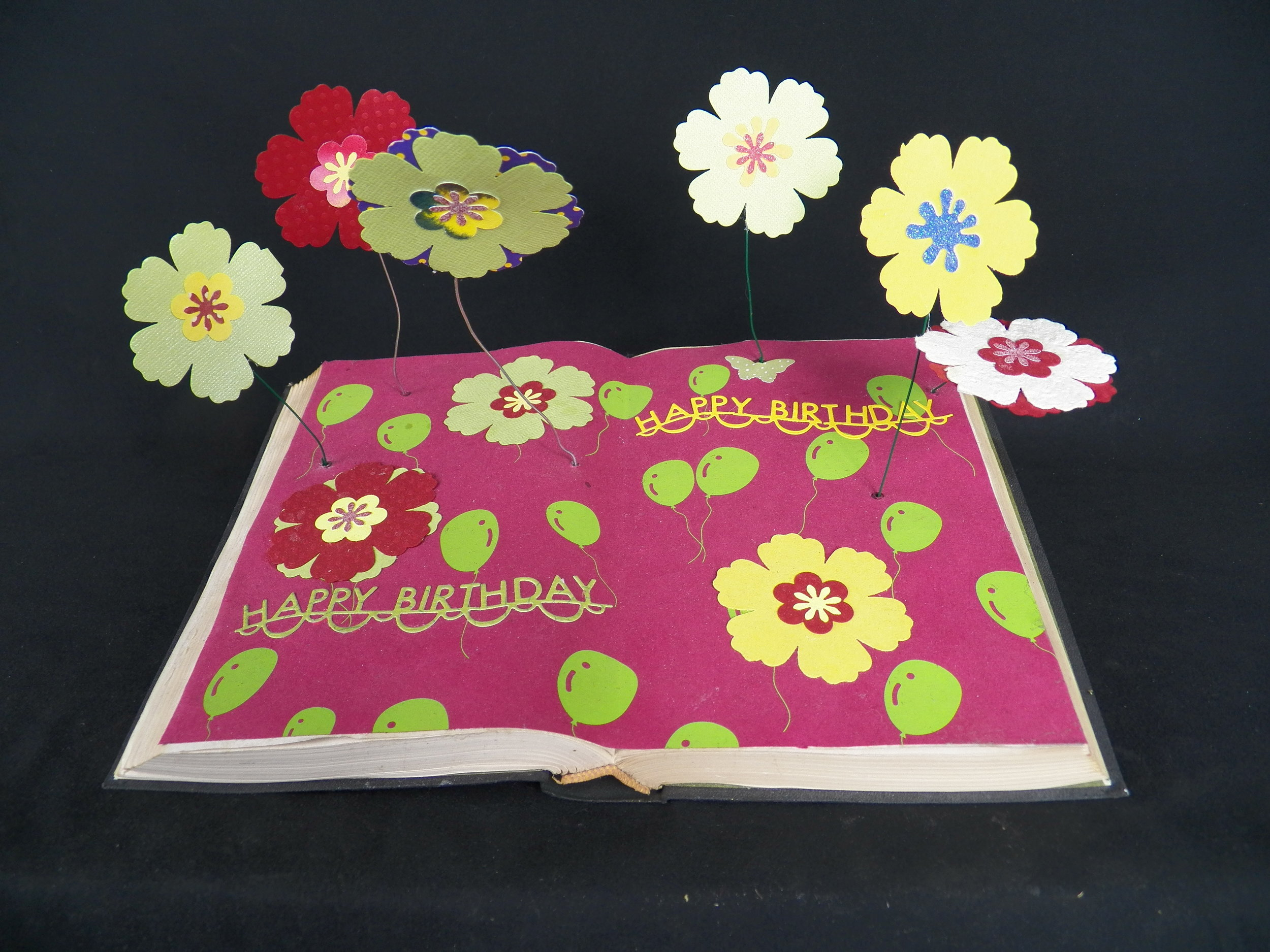 Flower Book Mobile