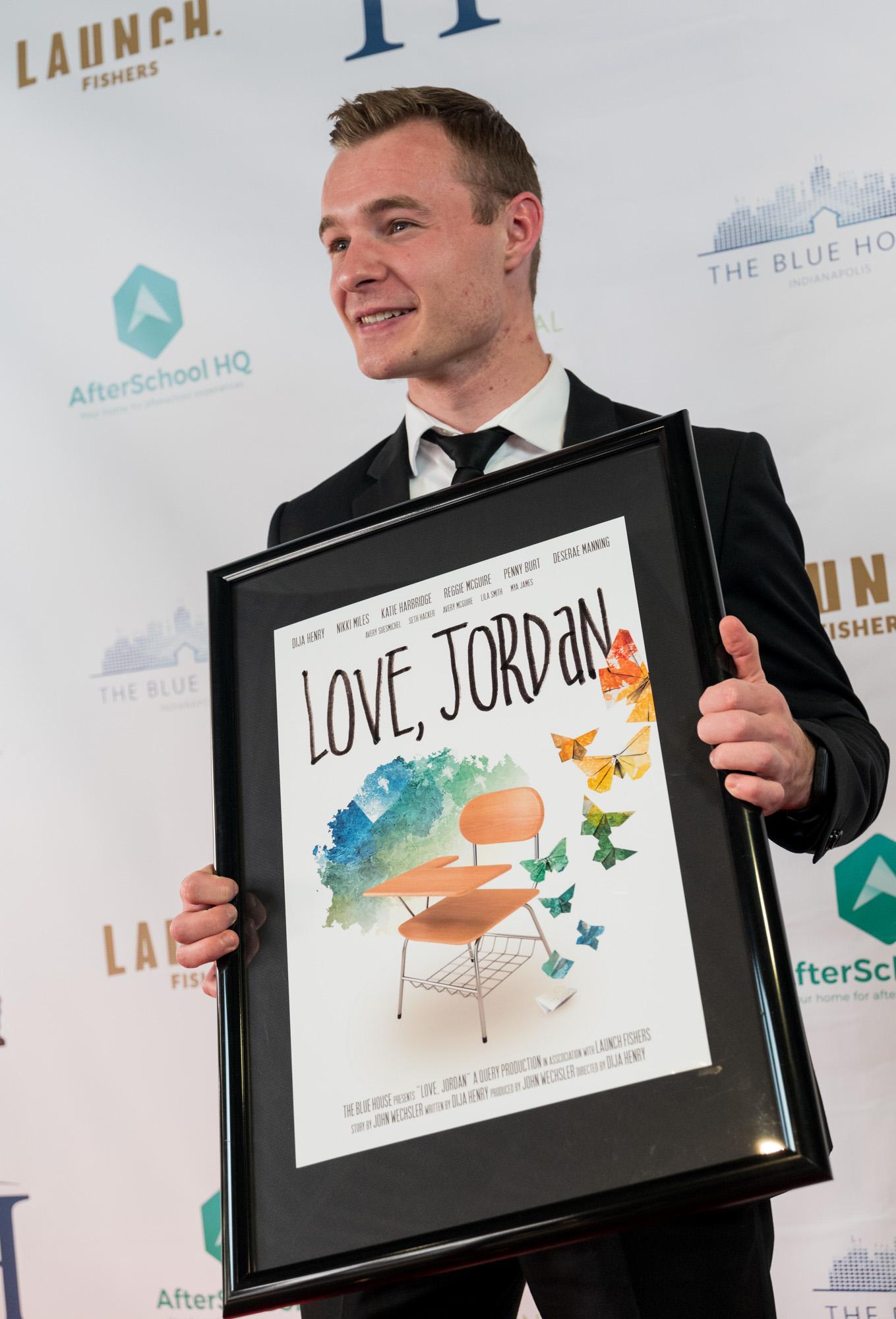 Love, Jordan Premiere, 2019  - Photo Credit to Mick Hetman Photography