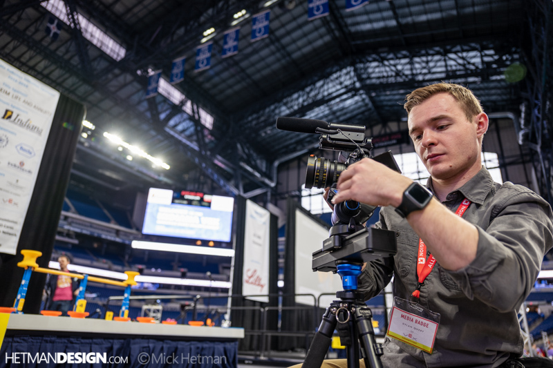 Indianapolis Vex Robotics Competition, 2019  - Photo Credit to Mick Hetman Photography