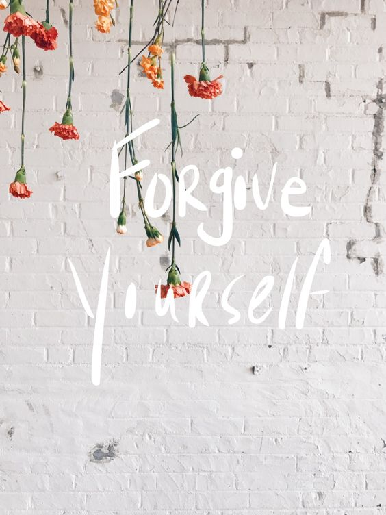 Compassion is the key to forgiveness - and it starts with forgiving ourselves for our own imperfections...
