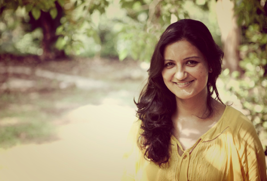 A gentle smile and a wide open heart - that's how you recognise Mansi immediately
