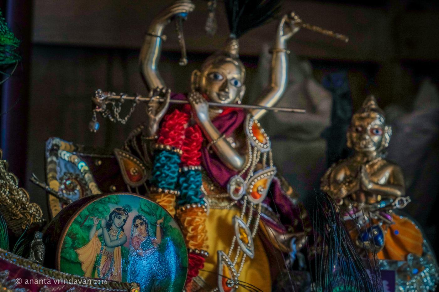 Small Deities of Gaura Nitai; Photo: Ananta Vrindavan