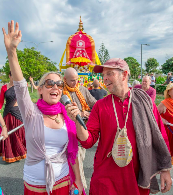 Ratha Yatra - one of our favourite festivals; Photo: Trevor Gore