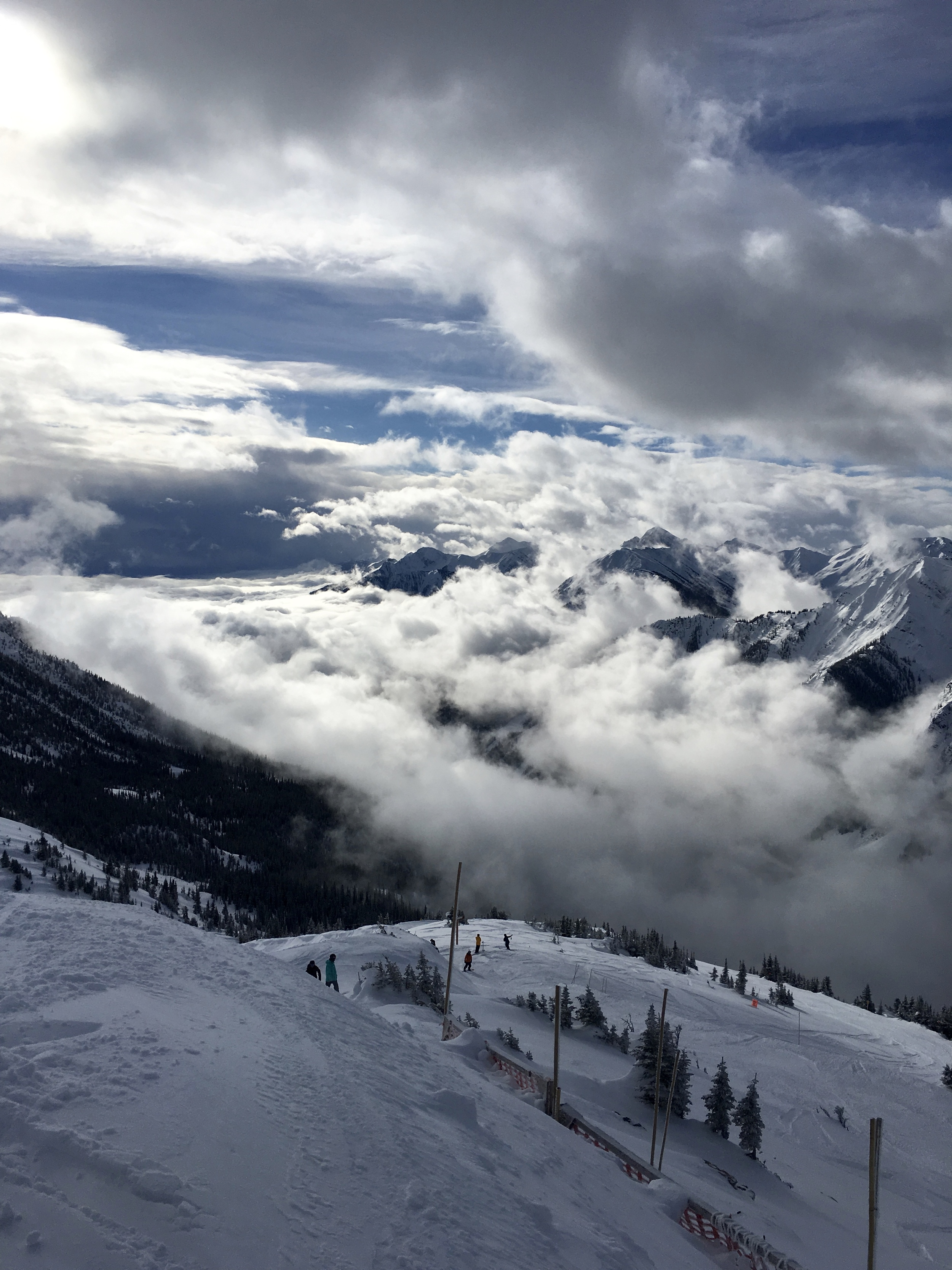 Shot from Kicking Horse resort looking down the Columbia River  Photo: Zach Husted