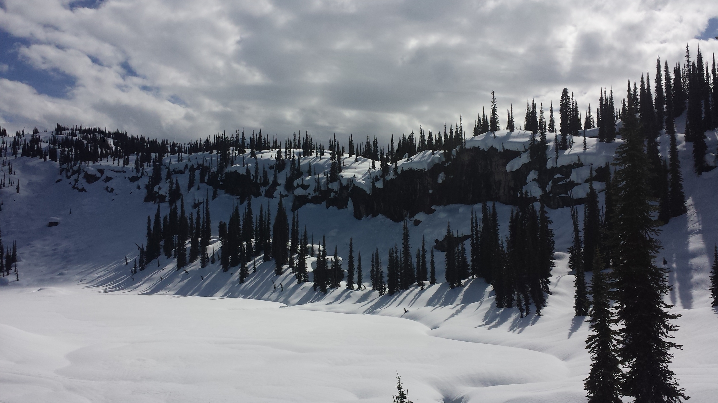 So many pillow lines!  Photo: Brian