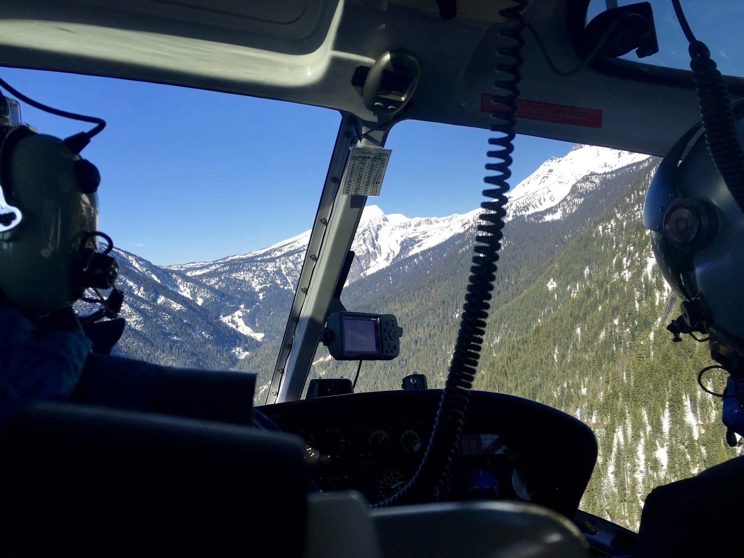 Flight into the chalet  Photo: Zach