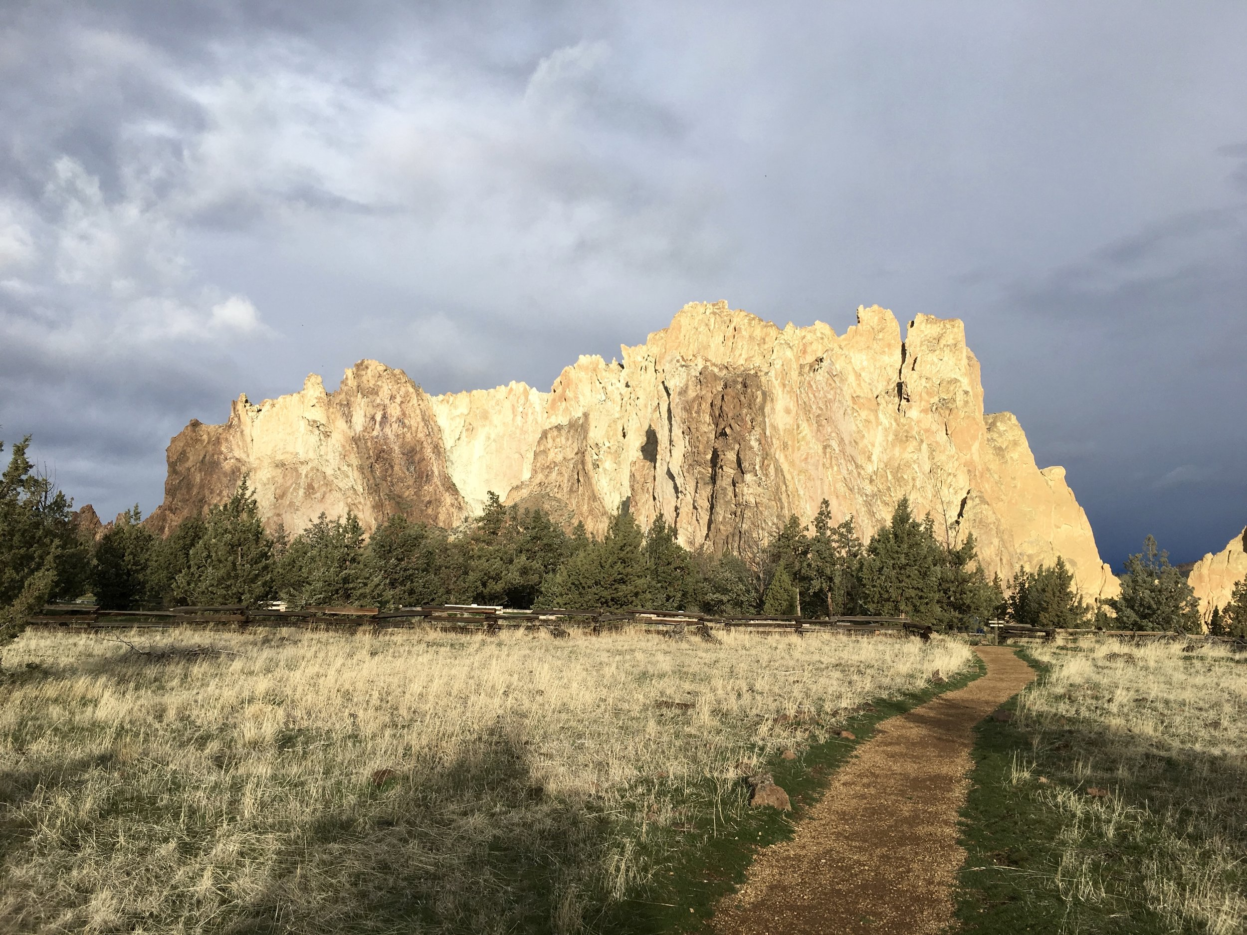 Some fantastic climbing at Smith Rock in Oregon.  Photo: Zach Husted