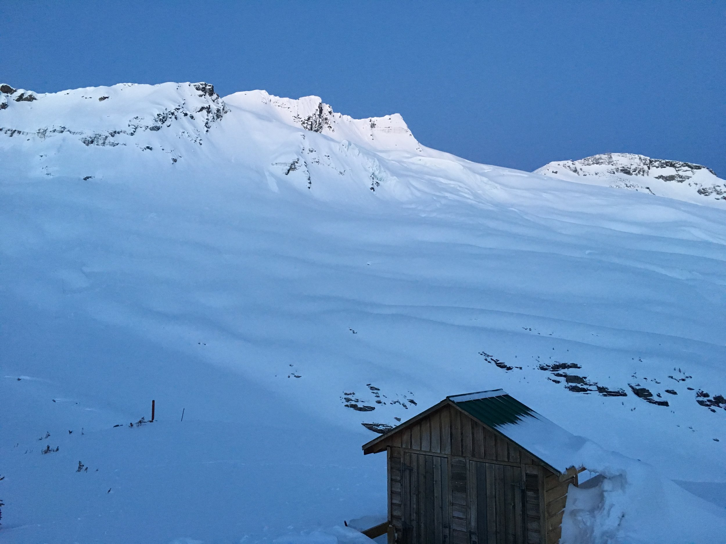 Asulkan Hut in the early morning  Photo: Zach Husted