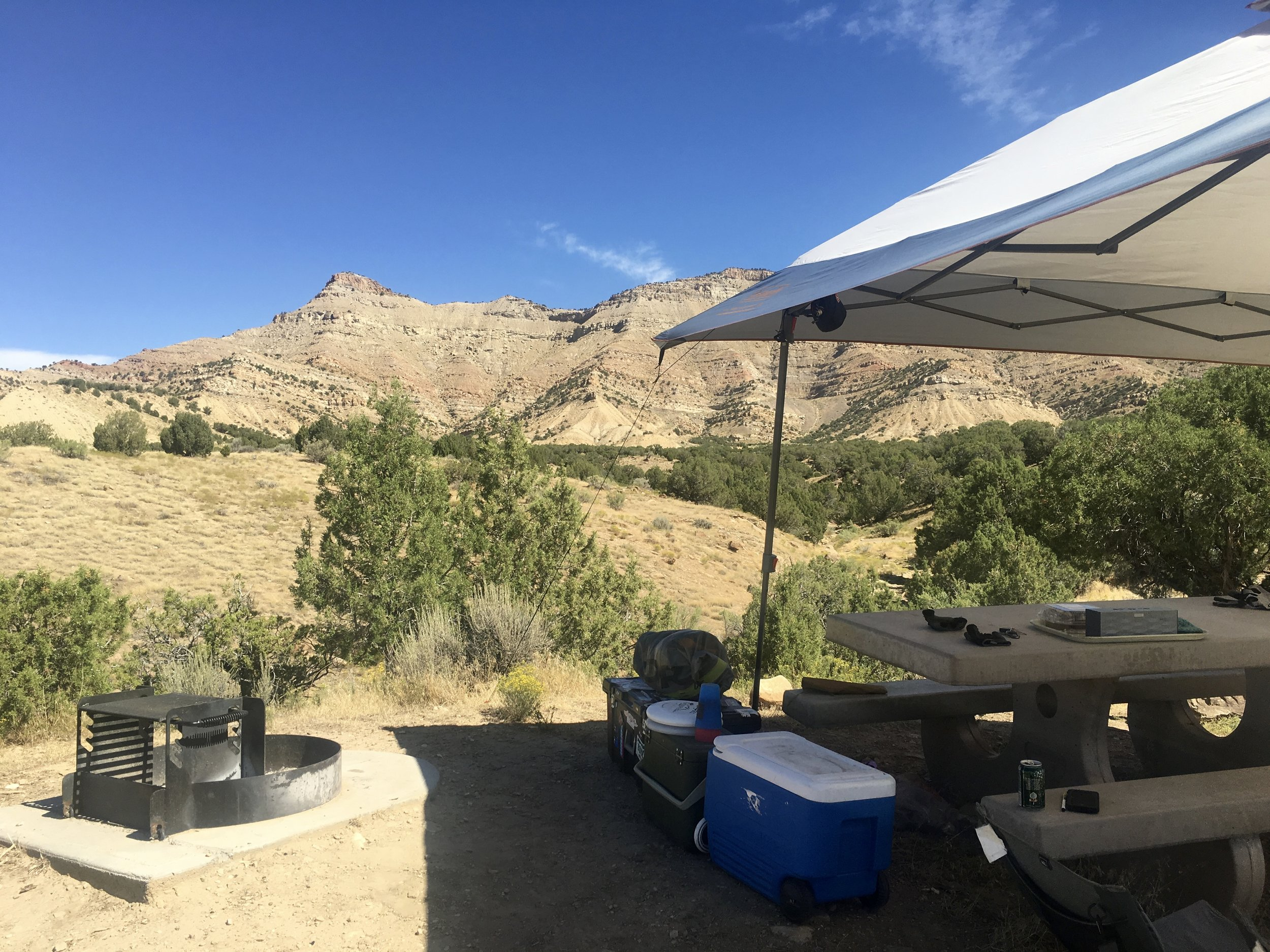Campsite off 18 Rd in Fruita, CO  Photo: Zach Husted