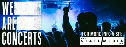 Find out about upcoming concerts in Tampa Bay by visiting StateMedia.com and tagging @NoClubs on Facebook, Instagram, or Twitter. Use the hashtag #WeAreConcerts