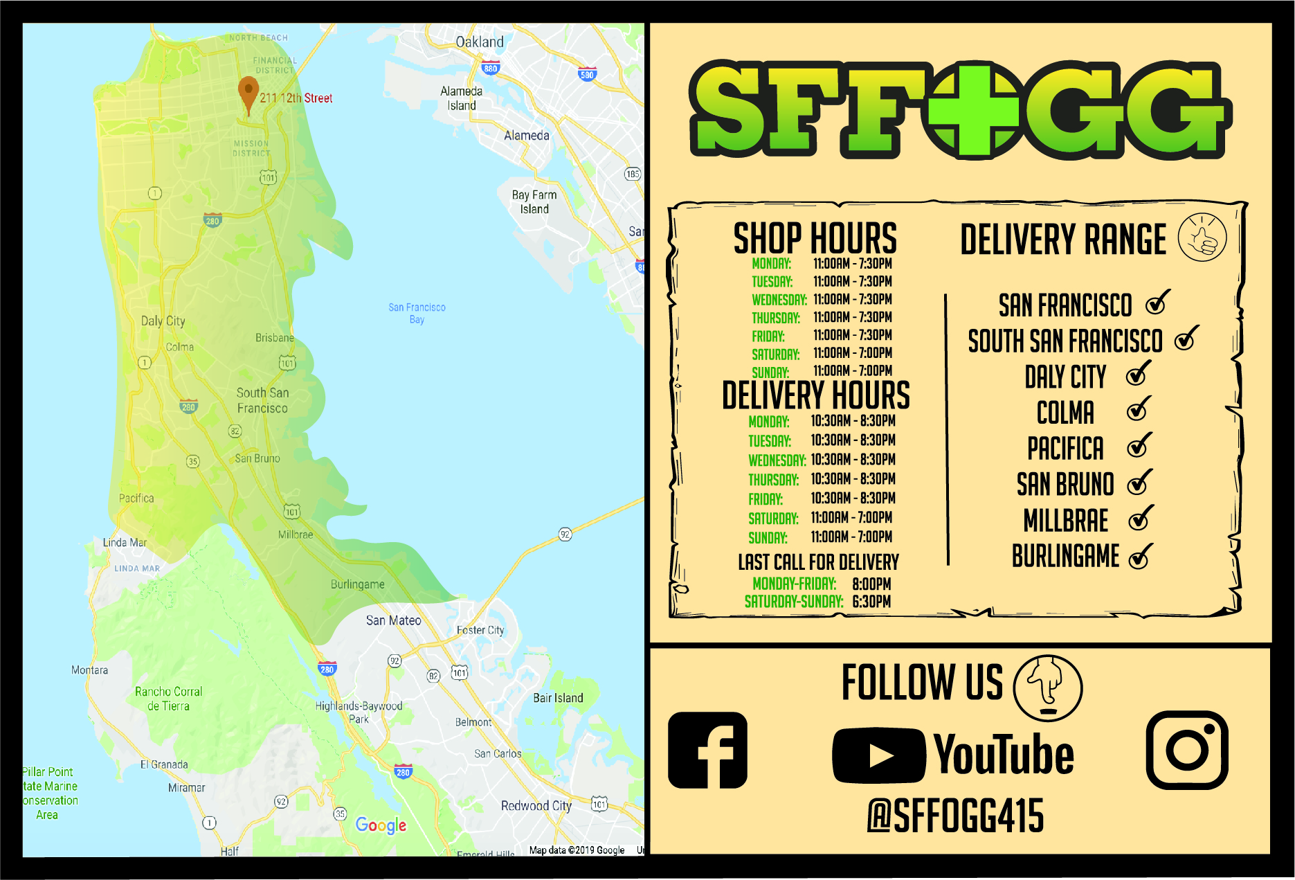 Bay Area Cannabis Delivery — SFFOGG Cannabis Retail and Delivery Bay