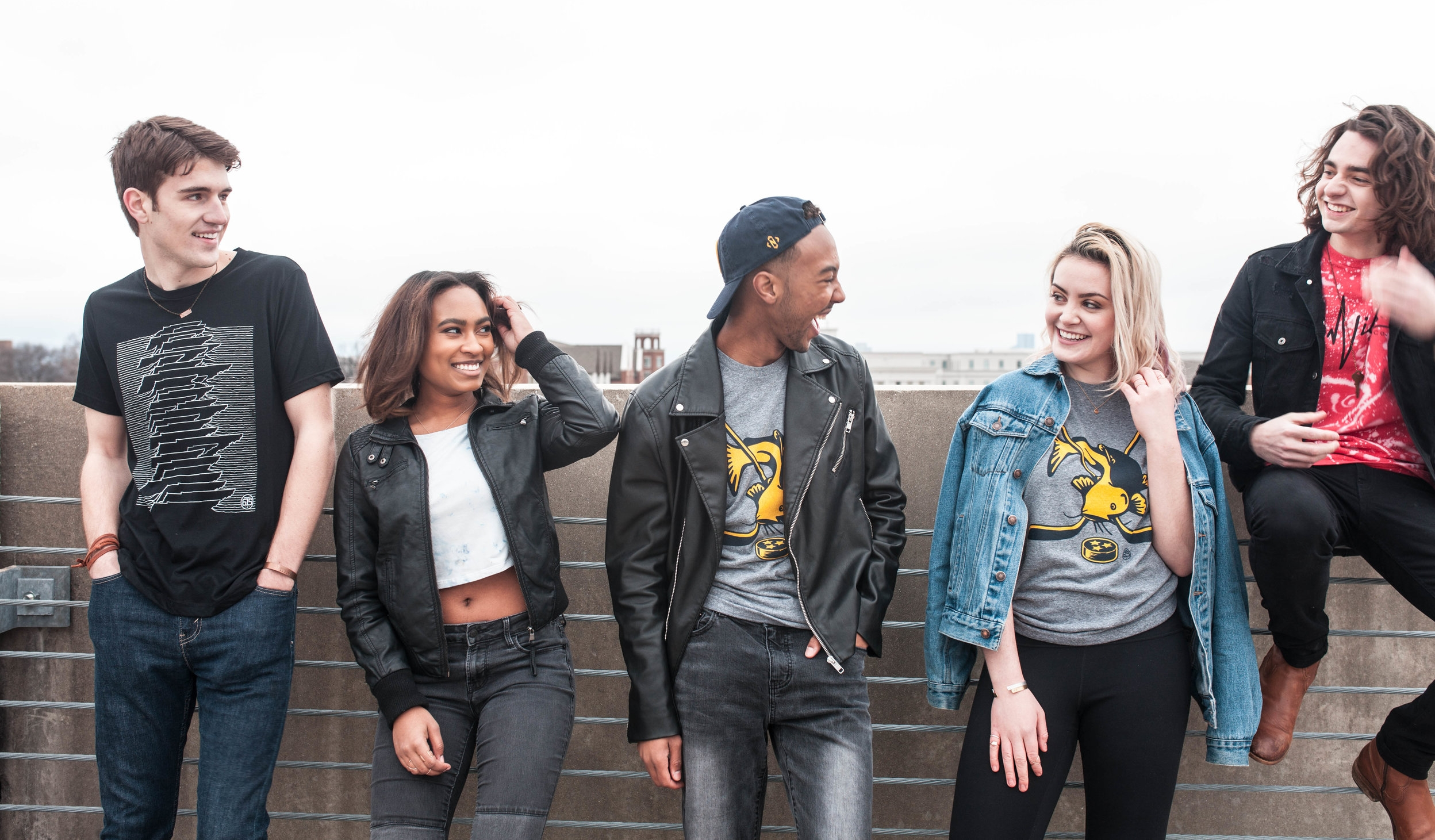 Photographer: Christy Hunter https://www.authenticphotosbychristy.com  Models (left to right): Evan Ward, Gabby Henson, David Andrew, Megan Matuszak, Harrison Baldwin