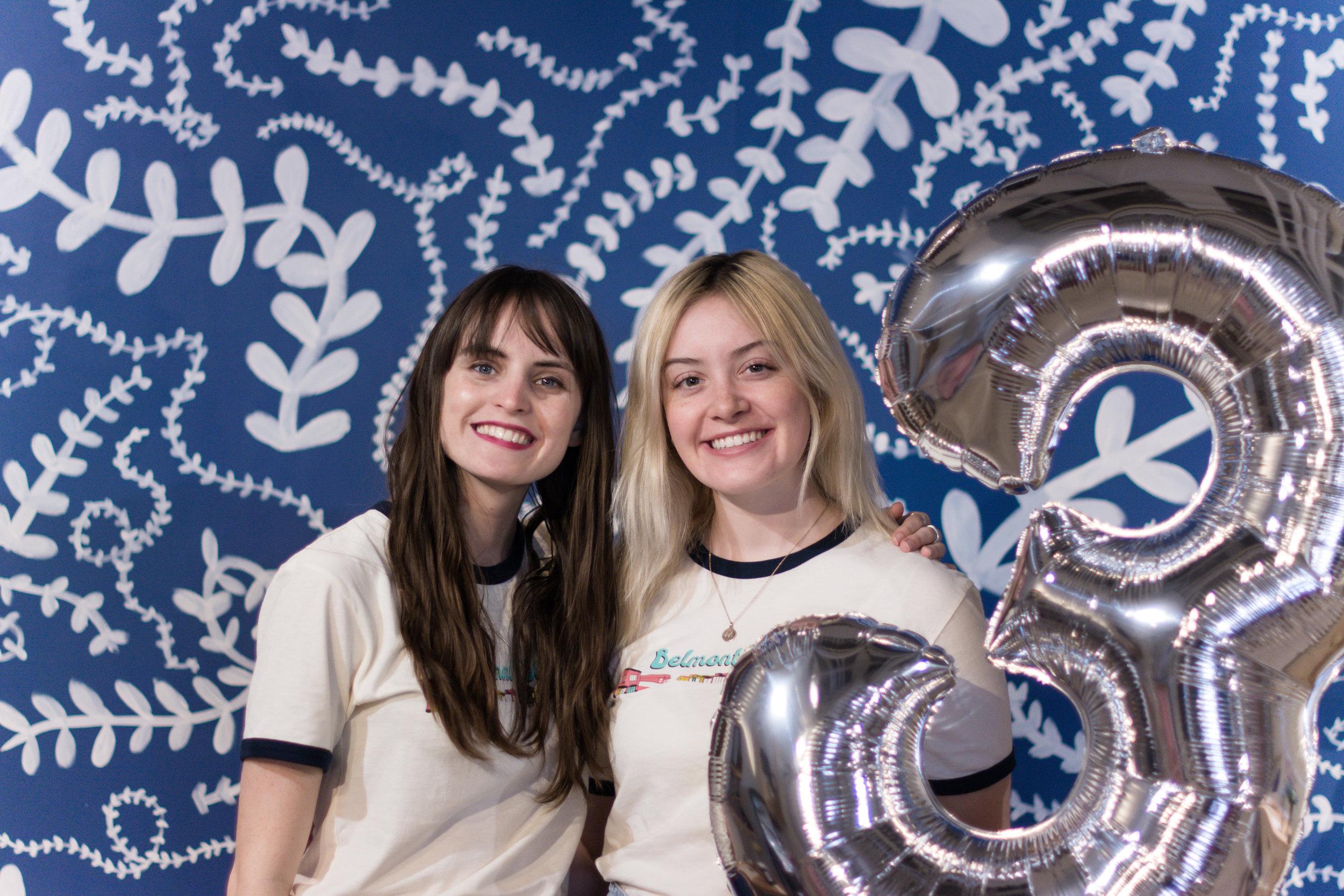 Hannah and Megan