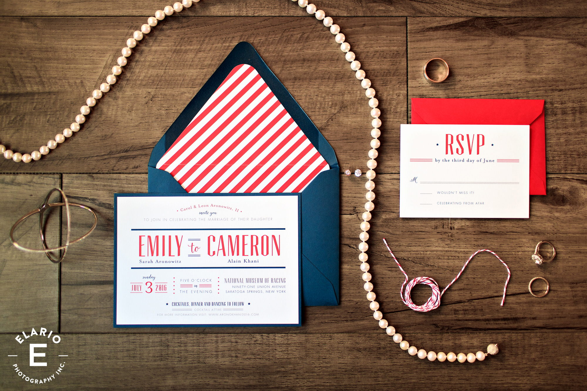 Invitation design by Jenny C Designs
