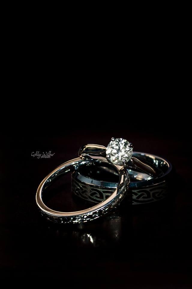 Wedding Rings - Saratoga Lake, NY Wedding