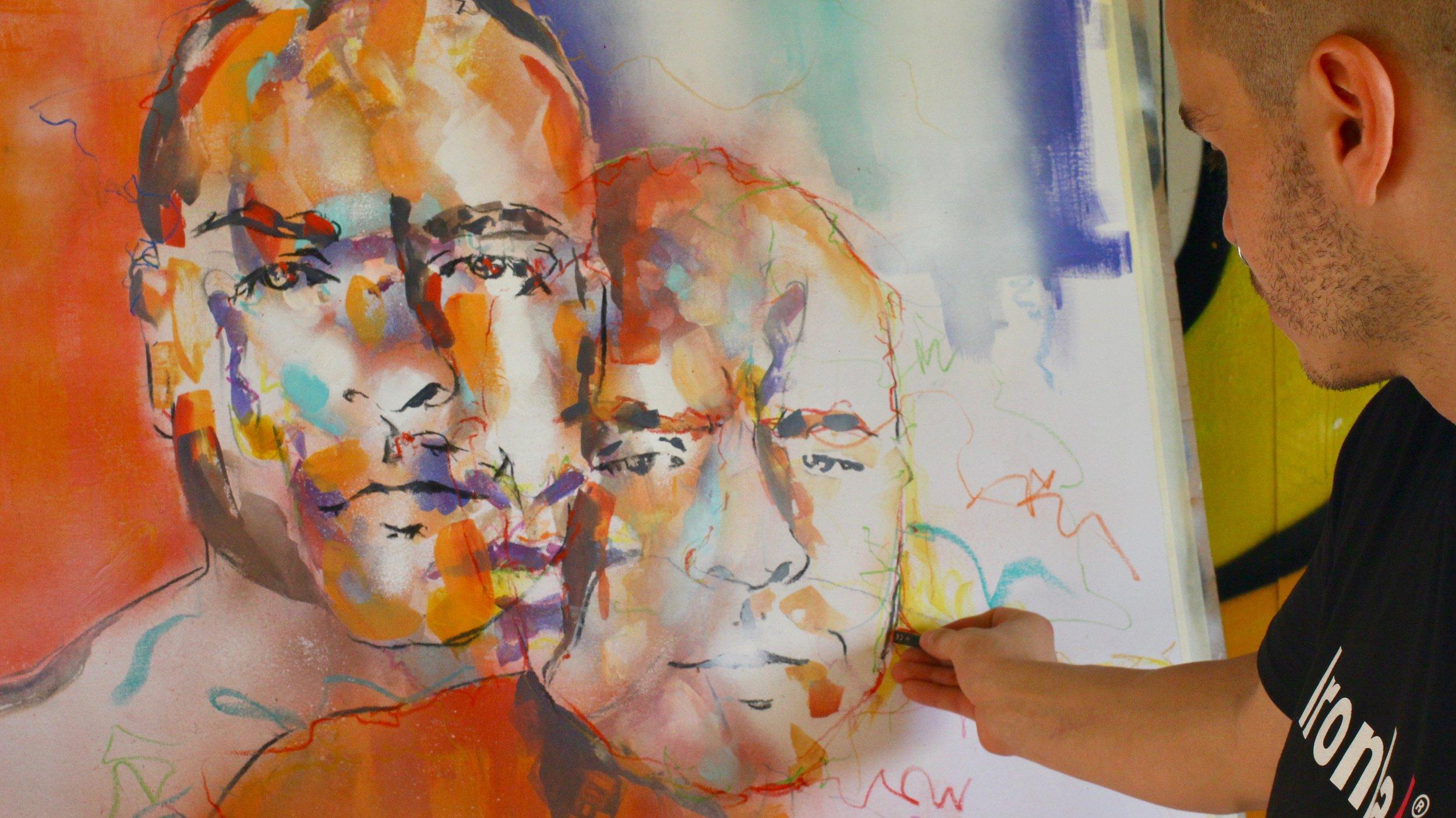 DEAN NENADICH ironlak the culprit club graffiti art brisbane gold coast
