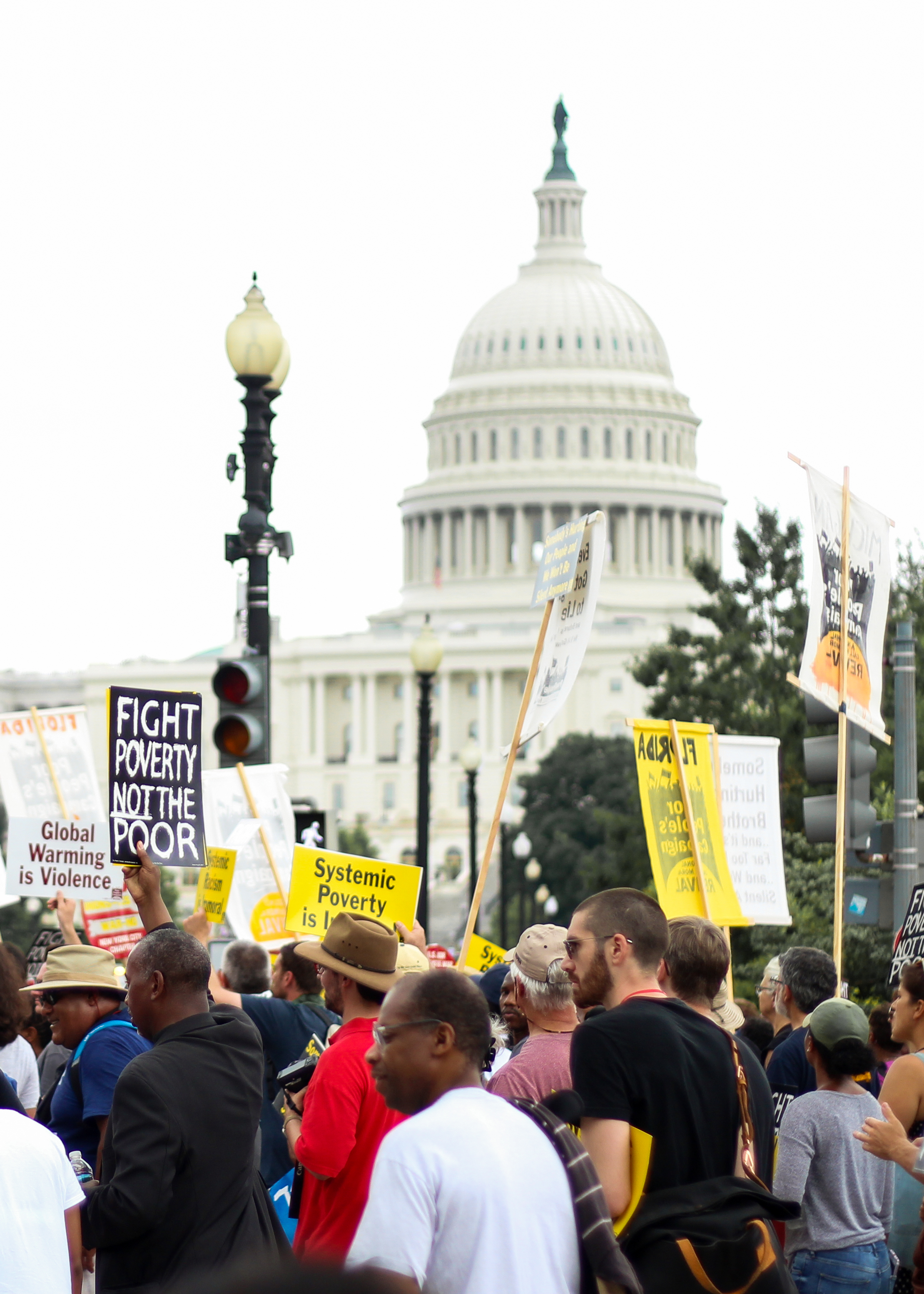 Poor People's Campaign June 23 2018 - Rally to Fight Poverty Not the Poor - Washington D.C.