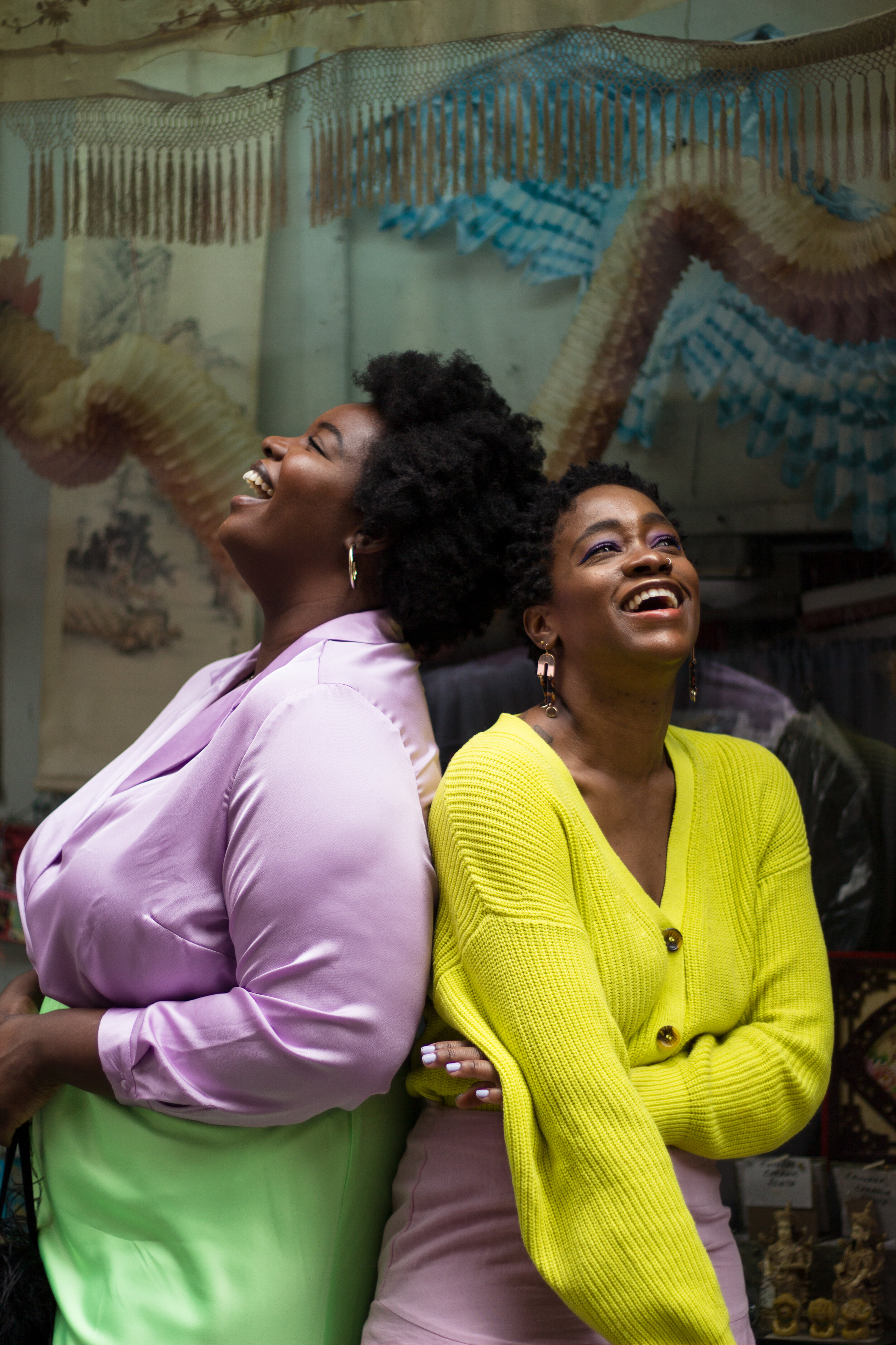 Two Black Girls Living In Color -