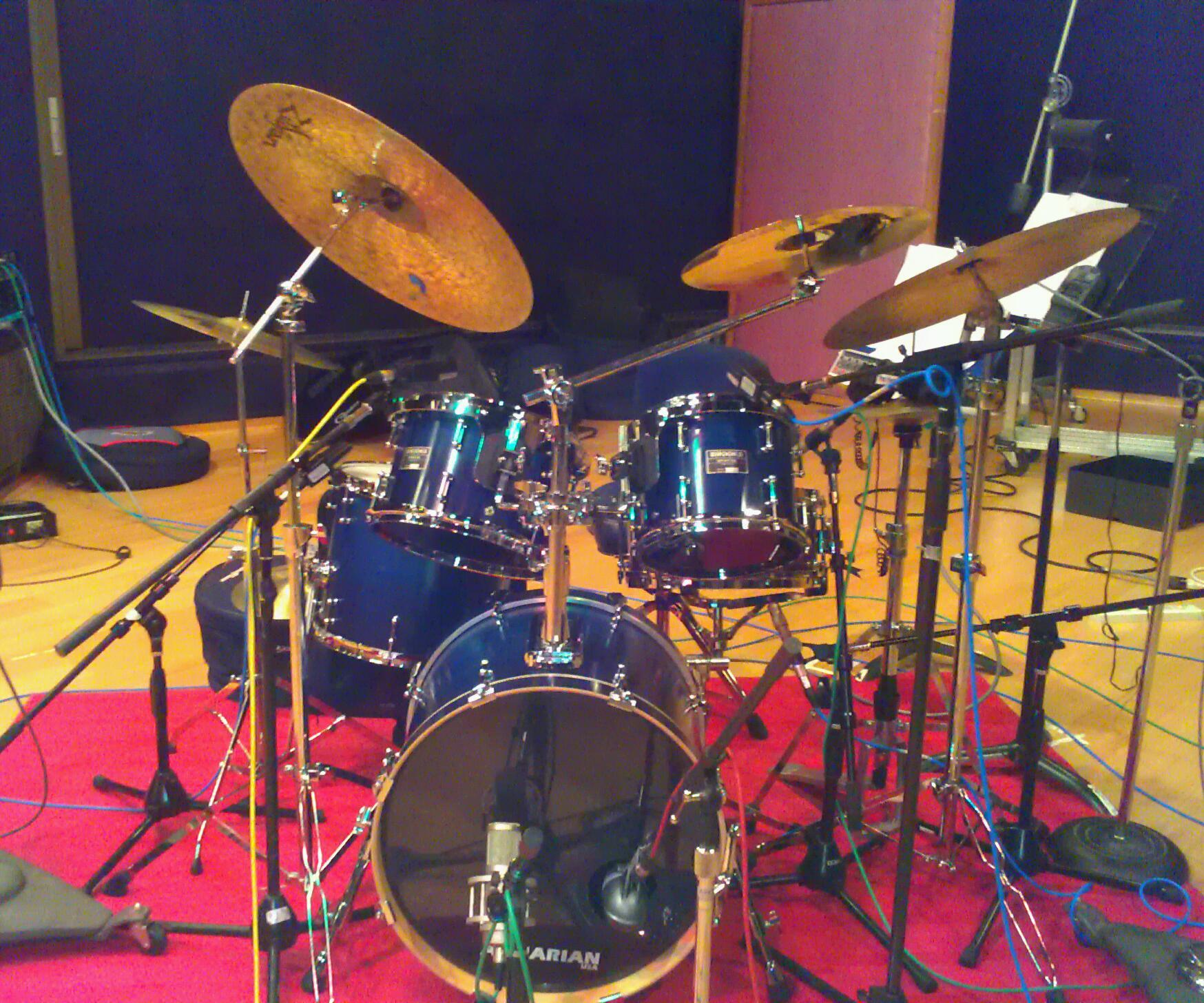 My Brooks at a recent recording @ Fantasy Studios